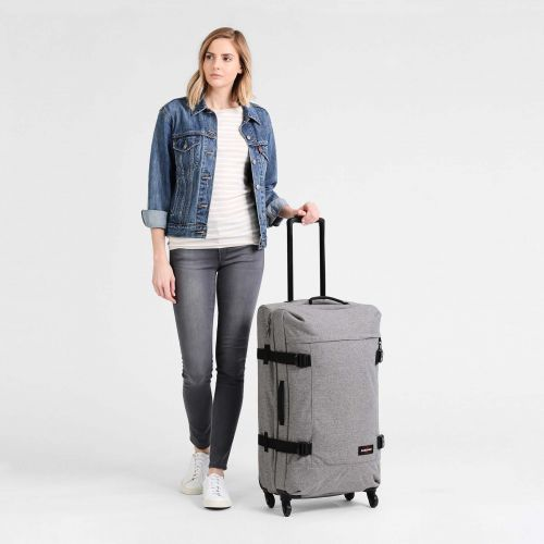 Trans4 L Sunday Grey Large Suitcases by Eastpak - view 2