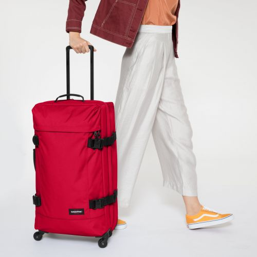 Trans4 L Sailor Red Large Suitcases by Eastpak - view 2