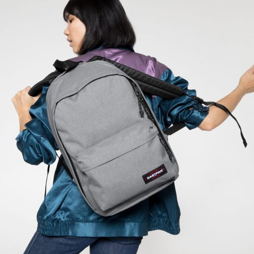 Back To Work Sunday Grey Backpacks by Eastpak - view 2