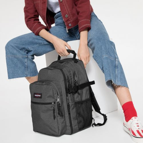 Tutor Black Denim Backpacks by Eastpak - view 2