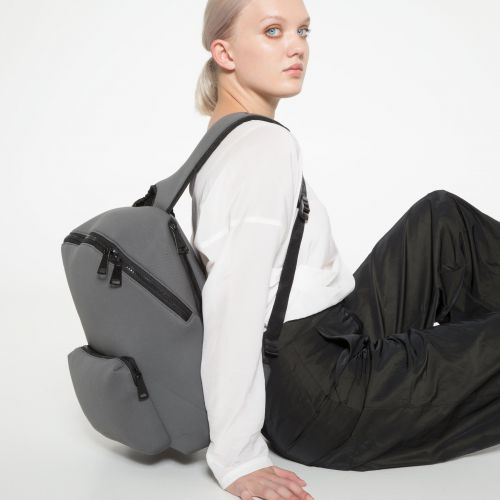 Padded Foamed Grey Backpacks by Eastpak - view 2