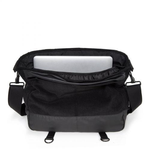 Delegate Cordsduroy Black Laptop by Eastpak - view 3