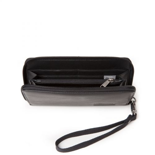 Kai Black Ink Leather Wallets & Purses by Eastpak - view 3