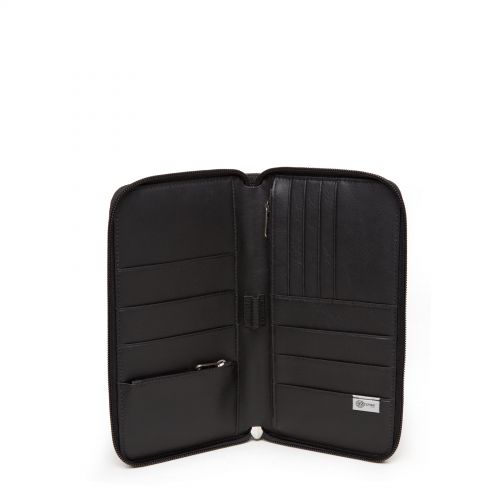 Tait Black Ink Leather Wallets & Purses by Eastpak - view 3
