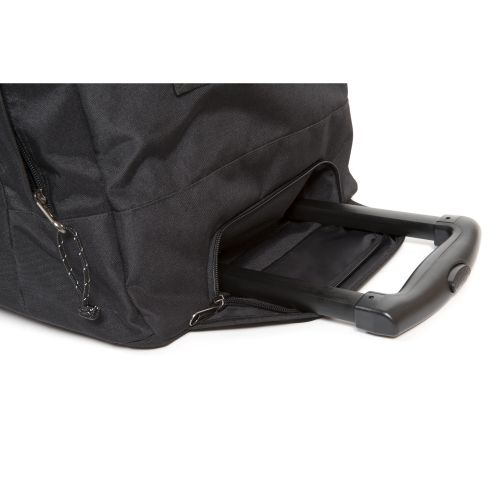 Leatherface L Black Large Suitcases by Eastpak - view 3