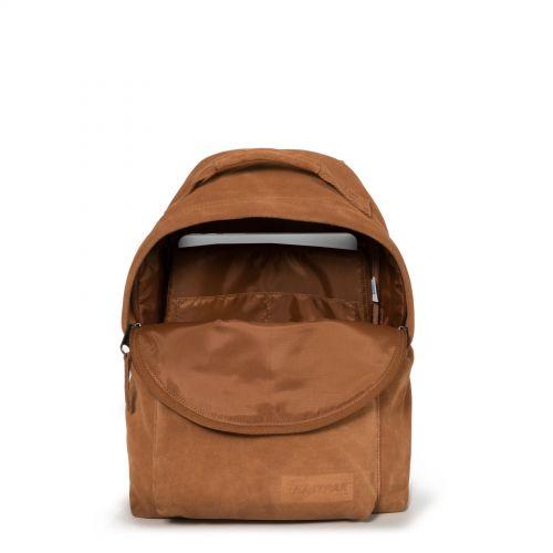Orbit Sleek'r Suede Rust Leather by Eastpak - view 3