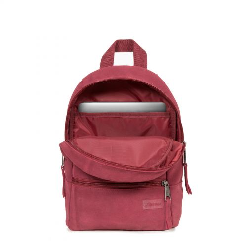 Lucia S Suede Merlot Leather by Eastpak - view 3