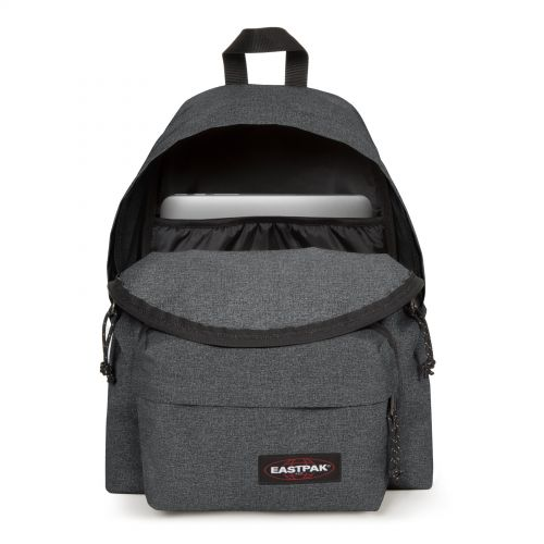 Padded Travell'r Black Denim Travel by Eastpak - view 3