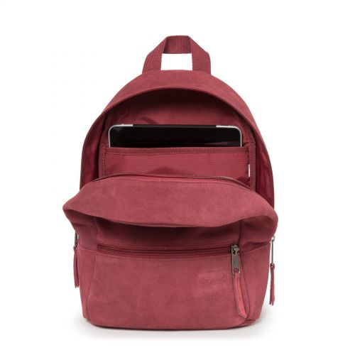 Lucia M Suede Merlot Leather by Eastpak - view 3