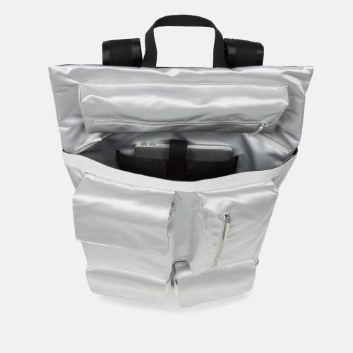 Raf Simons Poster Backpack Satin Couple White Special editions by Eastpak - view 3
