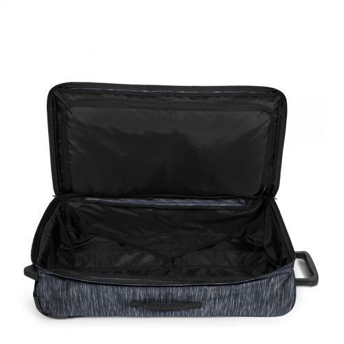 Traf'ik Light L Knit Grey Large Suitcases by Eastpak - view 3