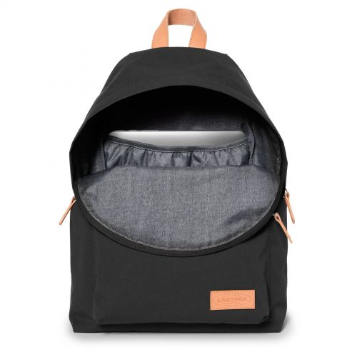 Padded Sleek'r Super Black Around Town by Eastpak - view 3