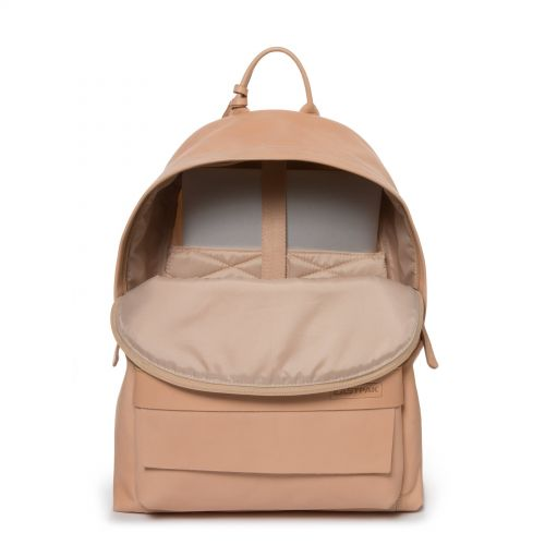 Padded Pak'r Natural Leather Leather by Eastpak - view 3