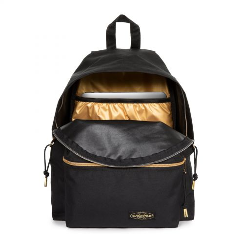 Padded Pak'r® Goldout Black-Gold Under £70 by Eastpak - view 3