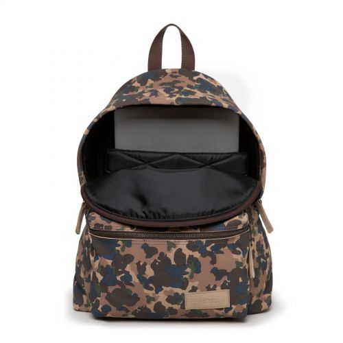 Padded Pak'r Camo Suede Leather by Eastpak - view 3