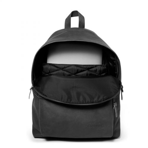 Padded Pak'r® Black Ink Leather Leather by Eastpak - view 3