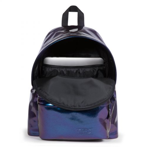 Padded Pak'r® Pearl Purple Pearlescent by Eastpak - view 3