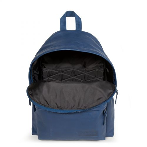 Padded Pak'r® Blue Leather Leather by Eastpak - view 3
