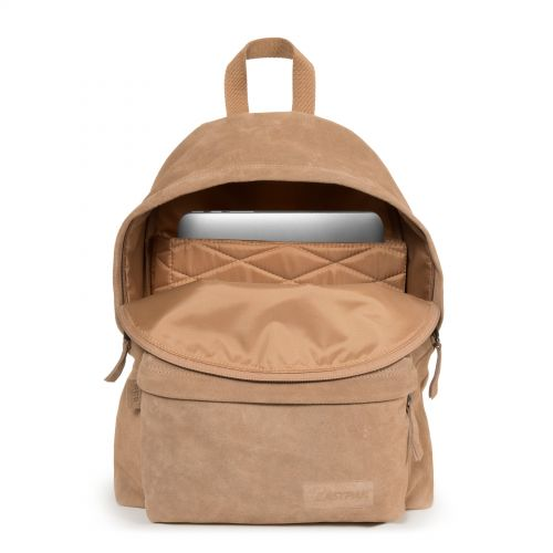 Padded Pak'r® Suede Brownie Leather by Eastpak - view 3