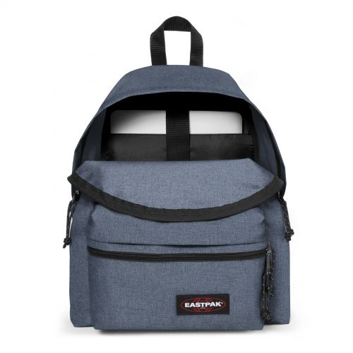 Padded Zippl'r Crafty Jeans Basic by Eastpak - view 3