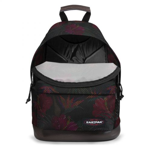 Wyoming Mesh Black Hibiscus Study by Eastpak - view 3