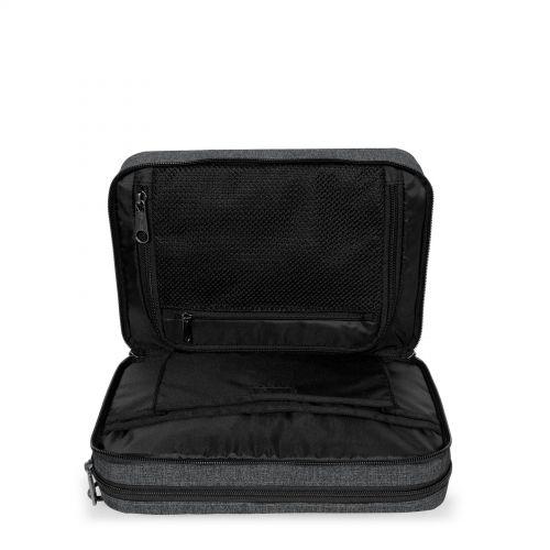 Mavis Black Denim Toiletry Bags by Eastpak - view 3
