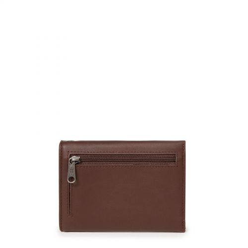 Crew RFID Chestnut Leather Wallets & Purses by Eastpak - view 4