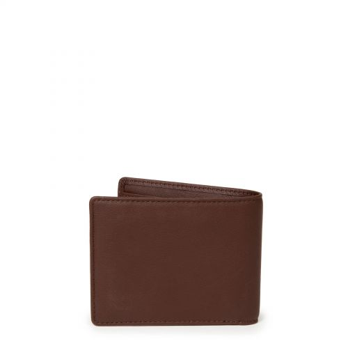 Drew RFID Chestnut Leather Wallets & Purses by Eastpak - view 4