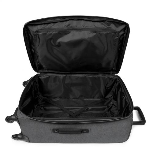 Traf'ik 4 L Black Denim Large Suitcases by Eastpak - view 4