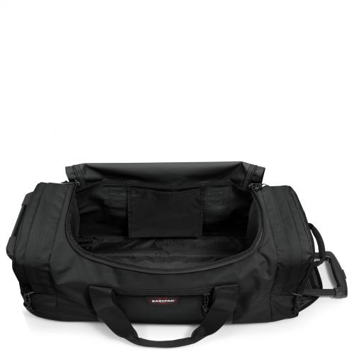 Leatherface L Black Large Suitcases by Eastpak - view 4
