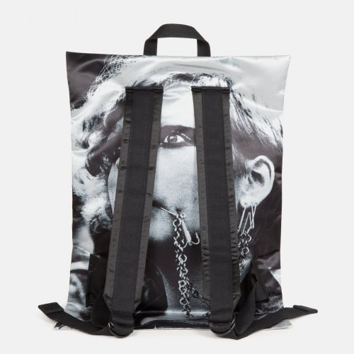 Raf Simons Poster Padded Satin Punk Silver Special editions by Eastpak - view 4