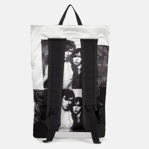 Raf Simons Poster Backpack Satin Couple White Special editions by Eastpak - view 4