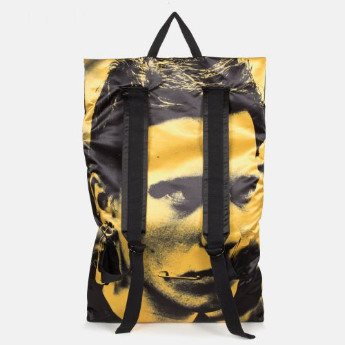 Raf Simons Poster Backpack Satin Boy Yellow Special editions by Eastpak - view 4