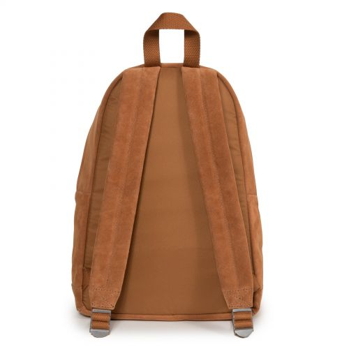 Padded Sleek'r Suede Rust Leather by Eastpak - view 4