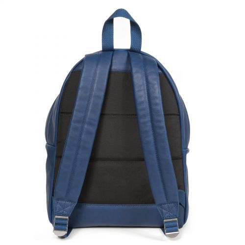 Padded Pak'r® Blue Leather Leather by Eastpak - view 4