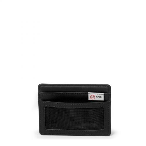 Zeke RFID Black Ink Leather Wallets & Purses by Eastpak - view 4