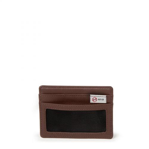Zeke RFID Chestnut Leather Wallets & Purses by Eastpak - view 4