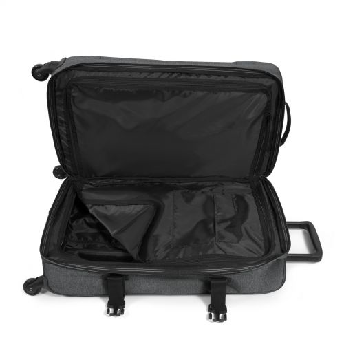 Trans4 M Black Denim Large Suitcases by Eastpak - view 4