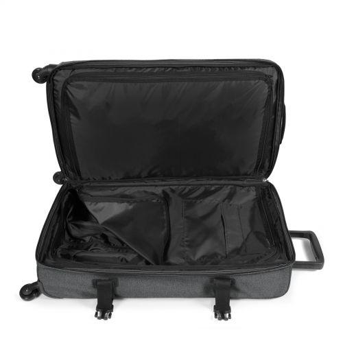 Trans4 L Black Denim Large Suitcases by Eastpak - view 4