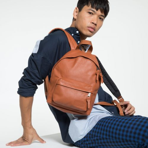 Orbit XS Brandy Leather Backpacks by Eastpak - view 5