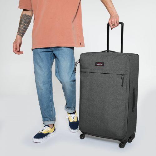 Traf'ik 4 L Black Denim Large Suitcases by Eastpak - view 5