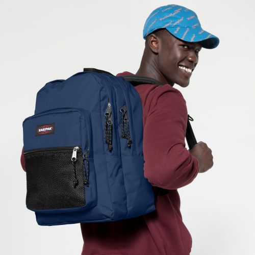 Pinnacle Gulf Blue Backpacks by Eastpak - view 5