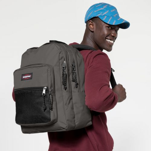 Pinnacle Whale Grey Backpacks by Eastpak - view 5