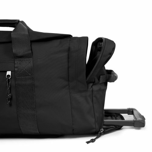 Leatherface L Black Large Suitcases by Eastpak - view 5