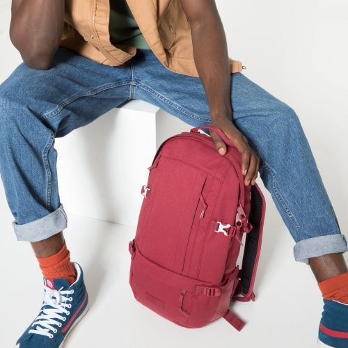 Floid Accent Red Backpacks by Eastpak - view 5
