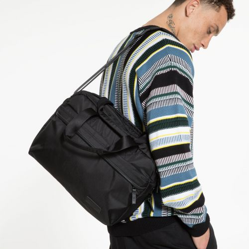 Bartech Constructed Mono Black Shoulderbags by Eastpak - view 5