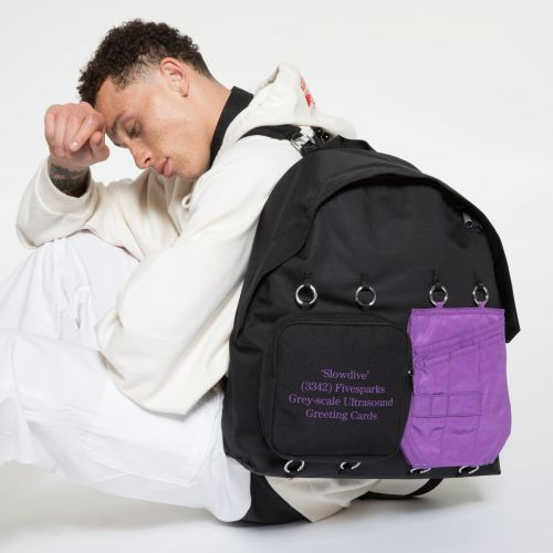 Raf Simons Padded Doubl'r Purple Quote Special editions by Eastpak - view 5