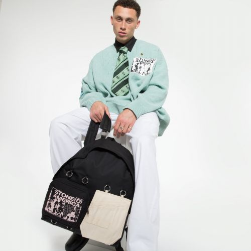 Raf Simons Padded Doubl'r Beige America Special editions by Eastpak - view 5