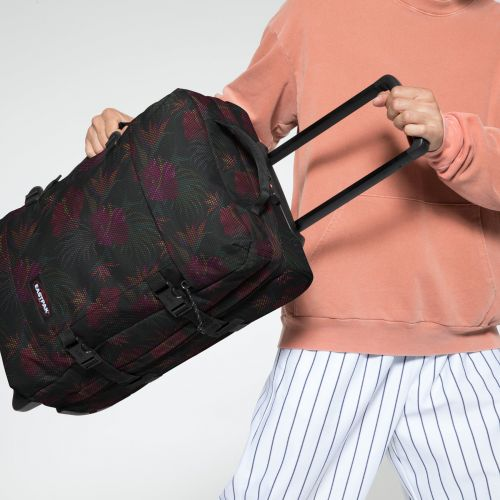 Tranverz S Mesh Black Hibiscus Luggage by Eastpak - view 5