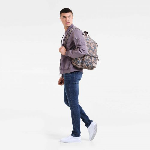 Padded Pak'r Camo Suede Leather by Eastpak - view 5